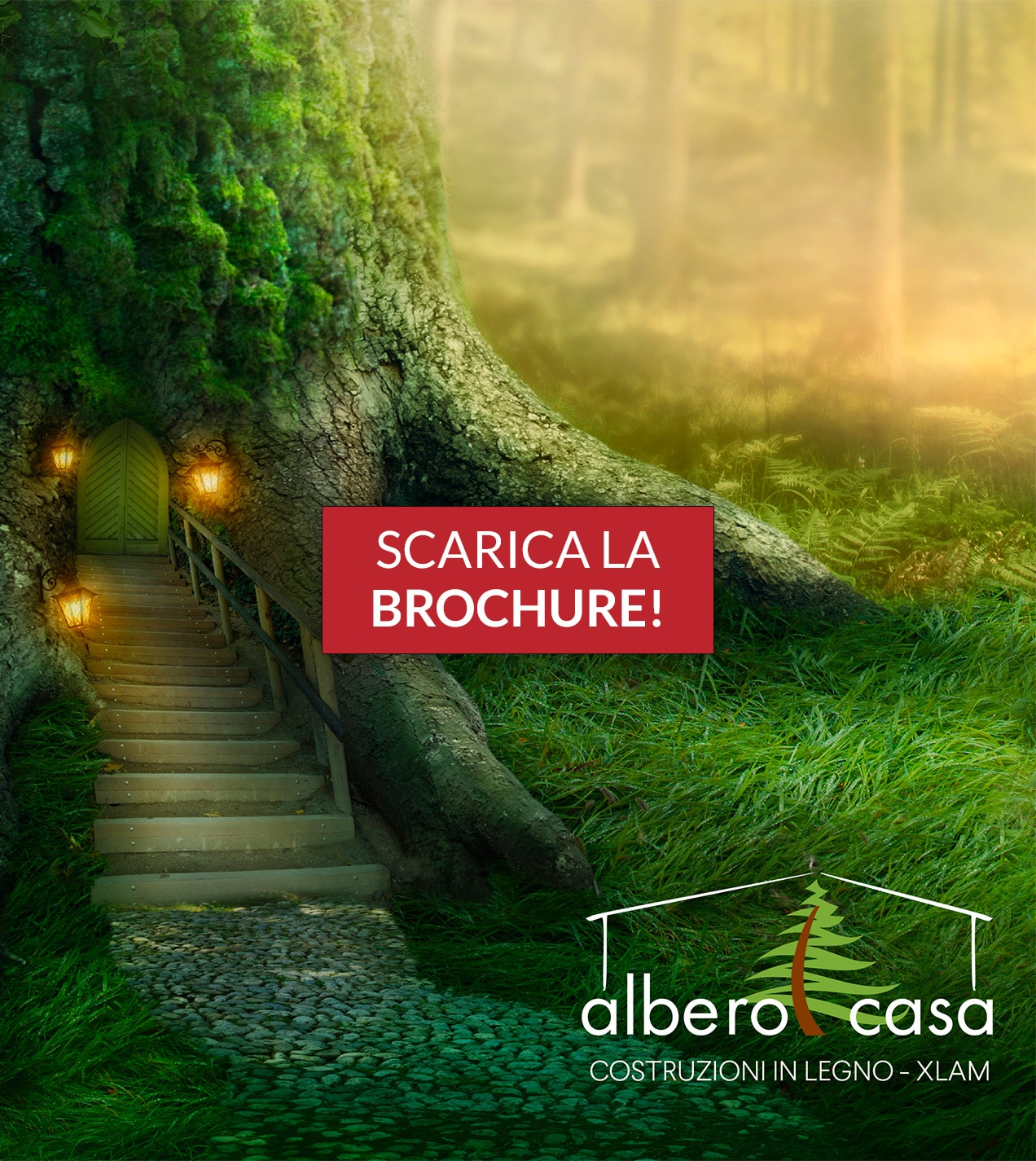 Scarica la Brochure | Albero Casa