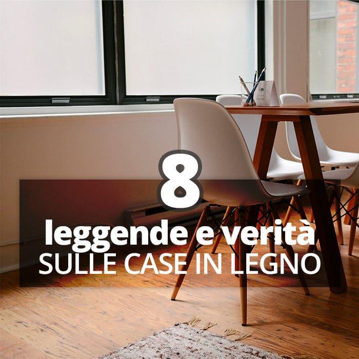 8 Leggende e Verità sulle Case in Legno | Albero Casa