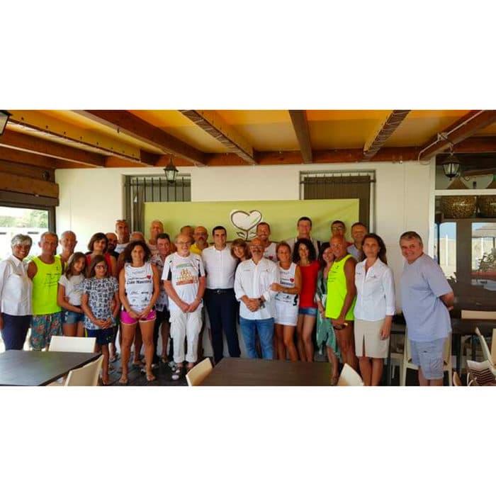 Consegnato al Bagno Kia Orana il Defibrillatore Pubblico | Albero Casa